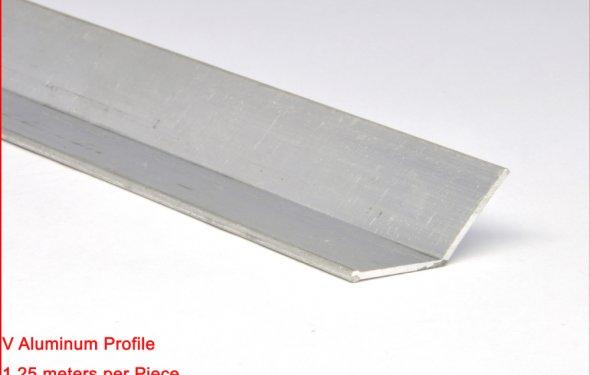 В алюминиевый профиль для