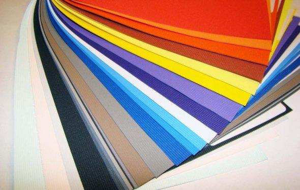 Фото: Цветовая гамма натяжных