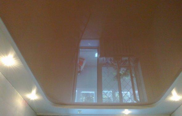 Натяжные ярусные потолки