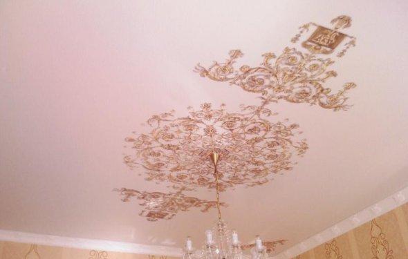 Натяжные потолки тканевые