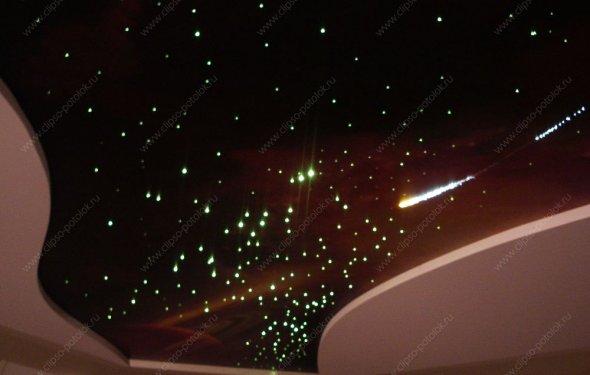 Звездное небо на потолке в