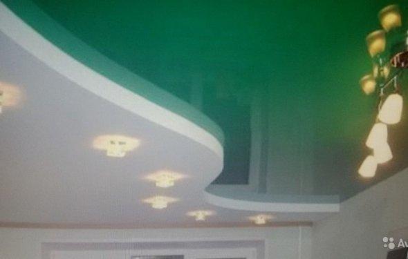 Новые натяжные потолки без